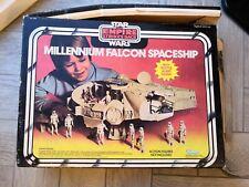 VINTAGE Star Wars Millennium Falcon BOX 1979