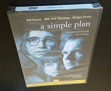 A Simple Plan (DVD, Widescreen Collection) Sam Raimi 1998 film Bill Paxton NEW