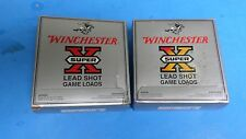 2 EMPTY, WINCHESTER SUPER X SHOTGUN SHELL BOXES, 12 GA.