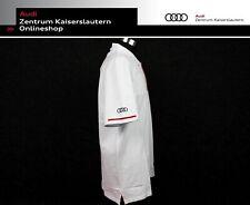 Audi Sport Original Herren Poloshirt weiß Polo Shirt weiß Männer 313150120