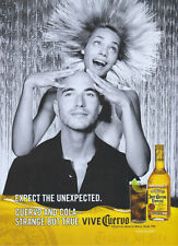 "Jose Cuervo Tequila ""Expect The Unexpected"" 2005 Magazine Advert #1807"