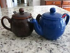 Chatsford London Tea Company - Two Pots (Blue and Brown) with inserts