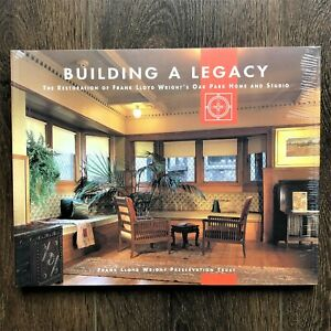 Frank Lloyd Wright Building A Legacy Book Restoration Oak Park Home