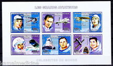 Congo imperf MNH SS, Aviation, Space, Yuri Gagarin, Astronaut, Neil Armst-  Si03