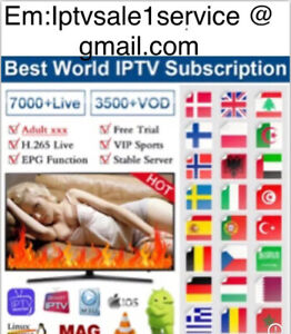 Smart IP*TV 12 months subs (M3U SMART TV ANDROID,MAG,firestick )24h free trial