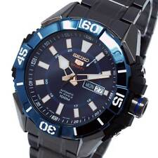 New SEIKO 5 SPORTS BLUE FACE AND BEZEL ION S/STEEL SRP797J1
