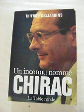 Un inconnu nommé Chirac Thierry Desjardins 1983