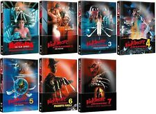 Nightmare on Elm Street 1-7 Mediabook Set Wattiert Neu und Originalverpackt