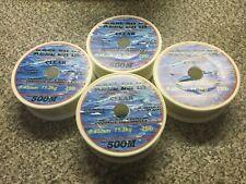 1880m Reel-em-in mono Fishing Line 25lb 4x 470m CLEAR 0.45mm reels D6514Cx4