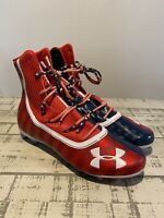 "Men's Under Armour UA ""Land Of The Free"" Highlight Football Cleats USA MC LE"