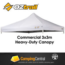 OZtrail MPGCCD30C Commercial Deluxe 3.0 Gazebo Replacement Canopy - White