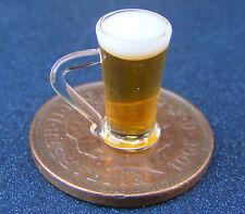 1:12 Scala Birra in una casa di bambole di vetro in miniatura Pub Bar Drink Accessorio GLA33bD