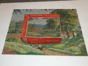Vintage Tuco Deluxe Picture Puzzle Country Vista - Complete