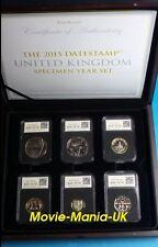 2015 DateStamp™ 12 Coin Limited Edition -UK Specimen Set.