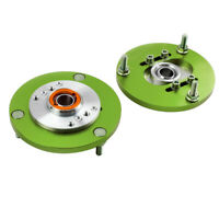 Front Coilover Camber Plate Top Mount green For BMW E36 3 Series 318 320 323 325