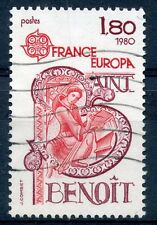 TIMBRE FRANCE OBLITERE N° 2086 CELEBRITE EUROPA / SAINT BENOIT