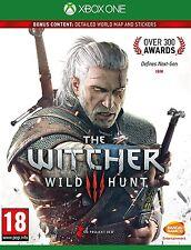 Xbox One The Witcher 3: Wild Hunt Juego Nuevo Sellado