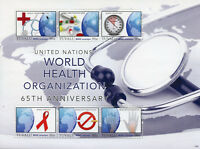 Tuvalu 2013 MNH UN United Nations World Health Org WHO 6v M/S Medical Stamps