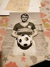 HUNGARIAN FOOTBALL PLAYER: KALMAN MESZOLY, 1960'S, ORIGINAL PHOTO