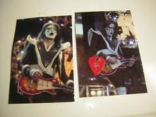 KISS ACE FREHLEY GUITAR PICK CITY CHAMPAIGN 10-1-2000  W/UNPUB.PHOTOS