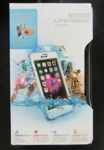 Genuine LifeProof Nuud WaterProof Case Cover For iPhone 6 Plus - WHITE