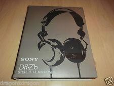 Sony dr-z6 stereo headphones/cuffie, 1978, ovp&neu, aperto una sola volta