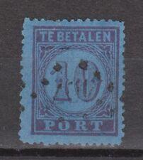 P2 Port nr. 2 used NVPH Netherlands Nederland Pays Bas due portzegel