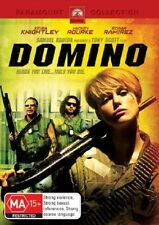 Domino (DVD, 2006) Region 4 Action Adventure DVD Rated MA Brand NEW & Sealed