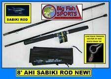 AHI SABIKI 8' Fishing Rod Stick INCLUDES CARRYING CASE! FREE USA SHIP! #RSB-800
