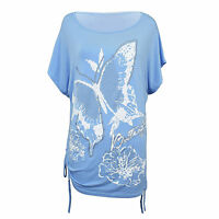 Shirt Ladies Loose Sleeve Casual Blouse Tops T Long Top New Women Womens Sexy