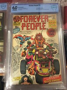 Forever People 1  1st Full App of Darkseid and 1st app of The Forever People