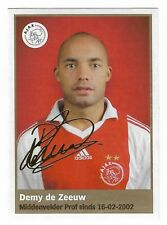 AH 2009/2010 Panini Like sticker #26 Demy de Zeeuw Ajax Amsterdam