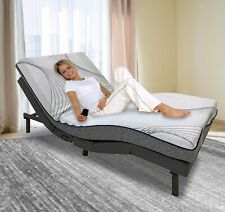 Twin XL AdjustableElectric Bed Frame Massage Wireless Remote (frame only)