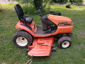 "1998 KUBOTA TG1860G Garden Tractor Riding Lawn Mower w/ 54"" Deck"