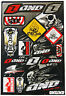 New ONE Suzuki Motocross Enduro Decals Sticker Kit Rm Rmz Drz Dr Te Graphic