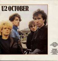 U2  October LP, Album Vinyl Schallplatte 181506