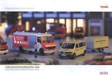 Herpa Cars Neuheiten März / April´2004-Modellbau-Mercedes-MAN-Scania-Volvo-neu