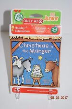 Leap Frog Tag Junior - Christmas in the Manger - Age 2+-Boy or Girl - NIP