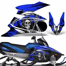 Yamaha APEX Decal Wrap Graphic Kit XTX Part Sled Snowmobile 2006-2011 REAP BLUE