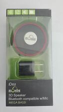 iDeaUSA Bluetooth Wireless Mini Speaker Portable Convenient Super Bass for Cell