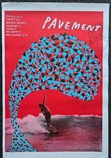 SIGNED FULL BAND Pavement Australia tour poster Stephen Malkmus Spiral Stairs +