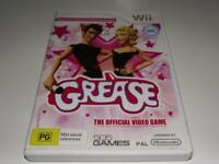 Grease Nintendo Wii PAL *Complete* Wii U Compatible