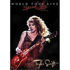 Taylor Swift Speak Now World Tour Live DVD All Regions NTSC 5.1 NEW
