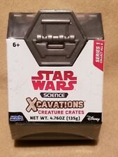 DISNEY / STAR WARS SCIENCE EXCAVATIONS CREATURE CRATES SERIES 1 BRAND NEW