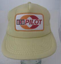 VTG Rare TNT Pilot Patch Trucker Hat Cap A13