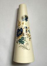 "Purbeck Ceramics ""Swanage"" Vintage Floral Design Pottery Decorative Vase"