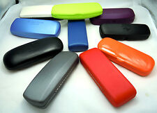 3 cases for the price of 1.   NEW hard spectacle glasses case velvet lined