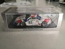 SPARK 1/43 le Mans - S1583 BMW M1 GR.5 BMW SWISS Le Mans 1981 #52 Surer