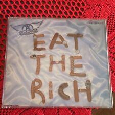 AEROSMITH cd single EAT THE RICH Glam Hard Rock Steven Tyler