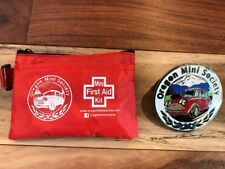Classic Mini Cooper Oregon Mini Society Grille Badge And First Aid Kit